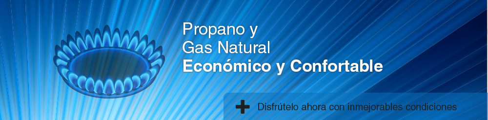 Propano y Gas Natural